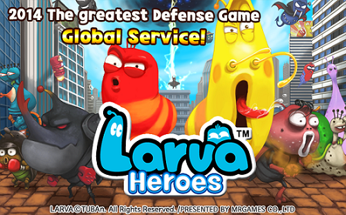 Larva Heroes Lavengers 2014 Android