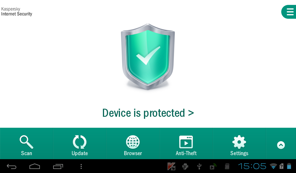 Kaspersky Internet Security Android 1