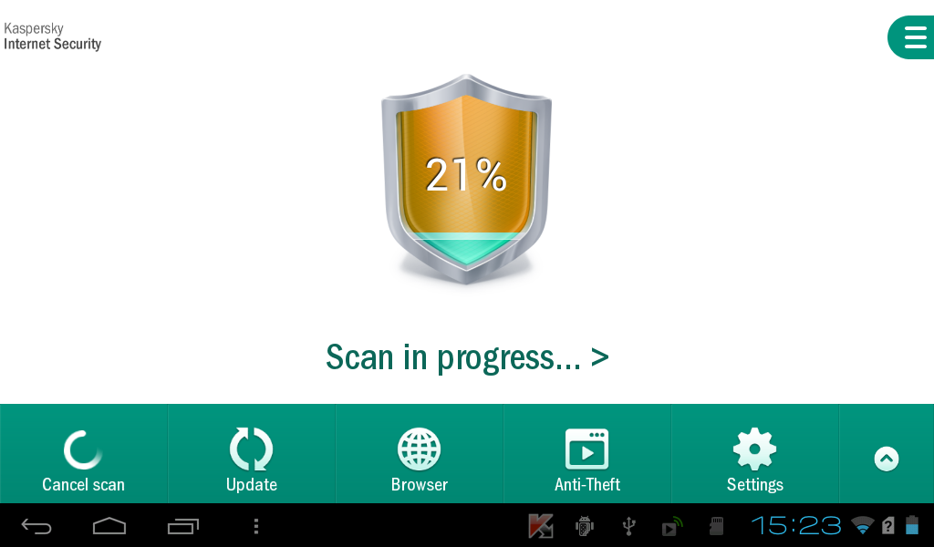 Kaspersky Internet Security Android 2
