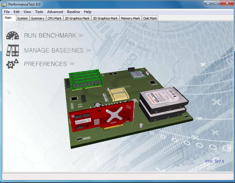 PerformanceTest Full 8.0 Build 1034